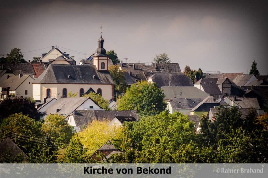 Sankt Clemens,Kirche in Bekond