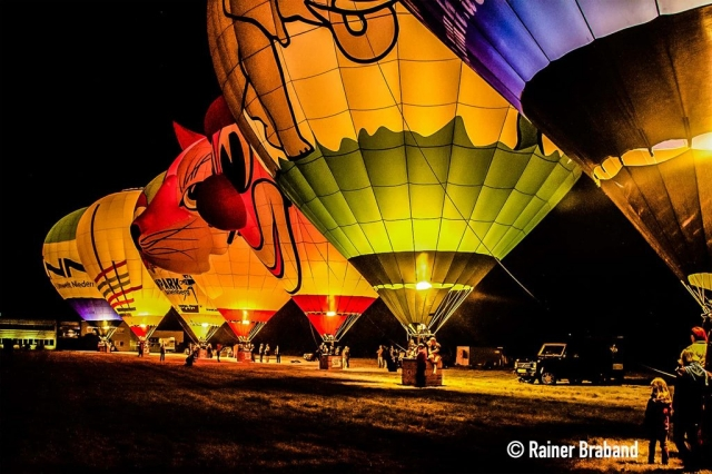 Mosel Ballonfiesta Nightglow in Föhren