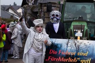 Fastnacht Karnevalsumzug Bekond 2018