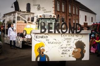 VW Skandal-Fastnacht Karnevalsumzug in Bekond-2018