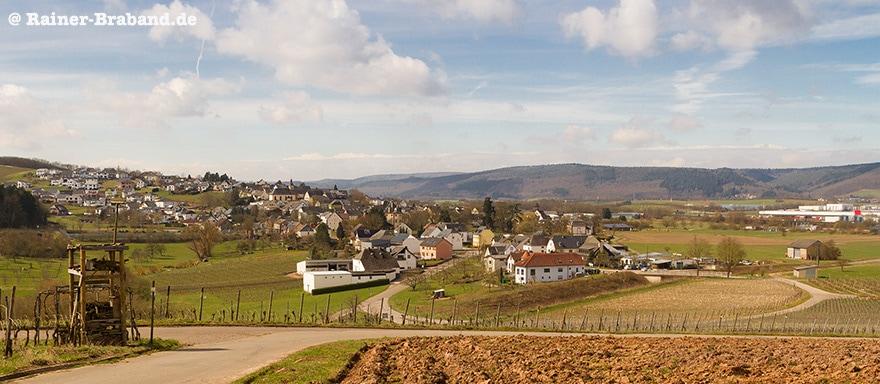 Bekond 2018 Gewerbegebiet Wald und Wiesen Weinberge