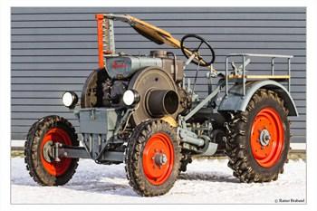 Das Dieselroß-F18 Fendt Oldtimer Traktor restauriert