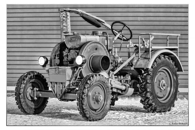 Oldtimer Traktor Fendt Dieselroß f18